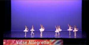 Valse Allegretto (Mini Company Ballet)